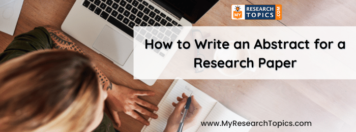 Abstract for a Research Paper