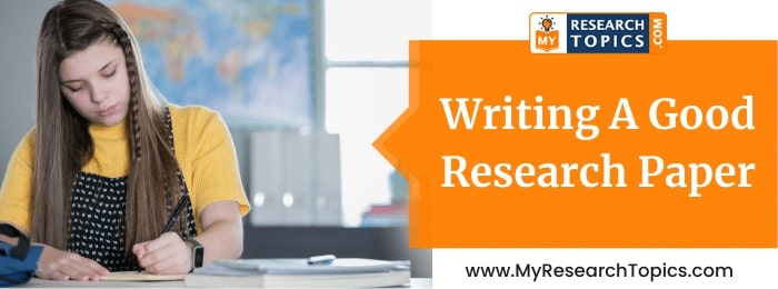 Writing Good Research Paper